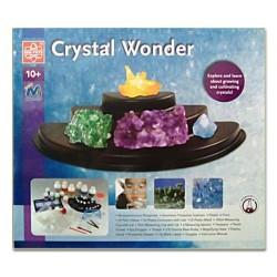 Grande laboratorio di cristalli