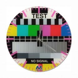 Orologio da parete Monoscopio Segnale TV Test