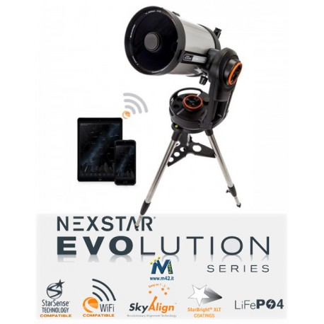 Telescopio Celestron NexStar Evolution 8 WiFi