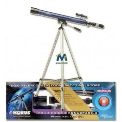 Telescopio Konuspace-5 + Orologio digitale Omaggio