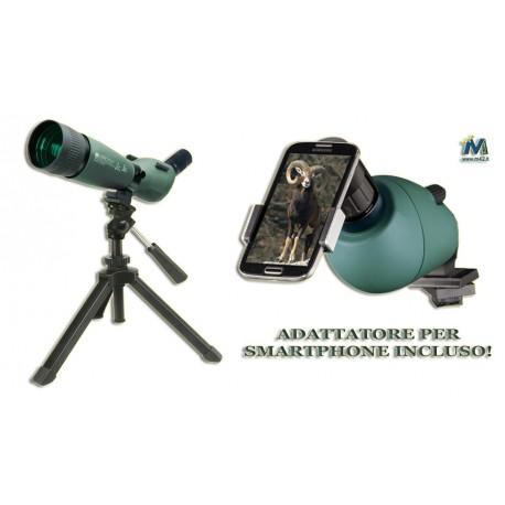 KonuSpot-80 20-60x70 zoom con treppiede