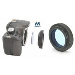 Anello T2 Canon EOS con portafiltri 50,8mm