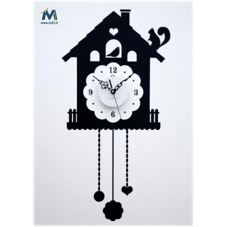 Vinyluse orologio da parete in vinile cuckoo for Orologi da parete ikea