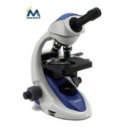 Optika Microscopio Biologico 1000x LED Serie B-190