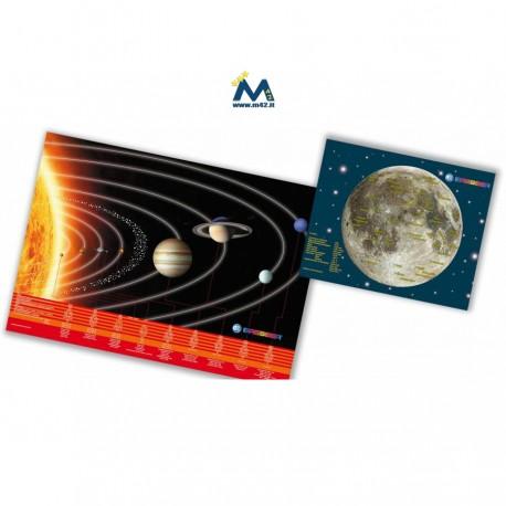 Astro set Poster & Desk Pad