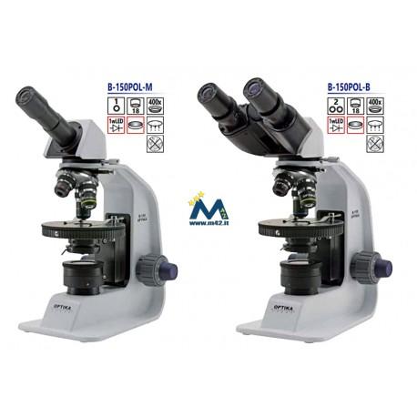 Optika Microscopio Polarizzante Serie B-150
