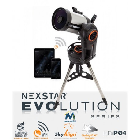 Telescopio Celestron NexStar Evolution 6 WiFi