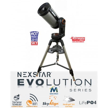 Telescopio Celestron NexStar Evolution 9.25 WiFi