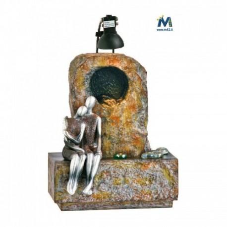 Fontana Da Interni Cascata.Fontana Da Interno Feng Shui Innamorati Abbraccio