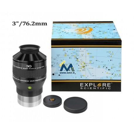 """Explore Scientific Oculare 100° Ar 30mm (3""""/76,2mm)"""