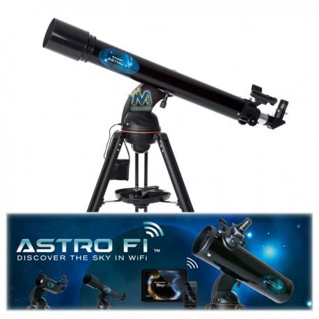 Telescopio Celestron Astro FI R90 WiFi