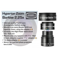 Baader Hyperion Zoom 2.25x Barlow