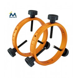 Geoptik Coppia anelli guida per tubi da 48 a 120 mm