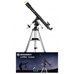 Bresser Lyra 70/900 EQ-SKY Telescope carbon design