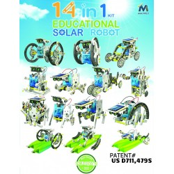 Robot solare 14 in 1