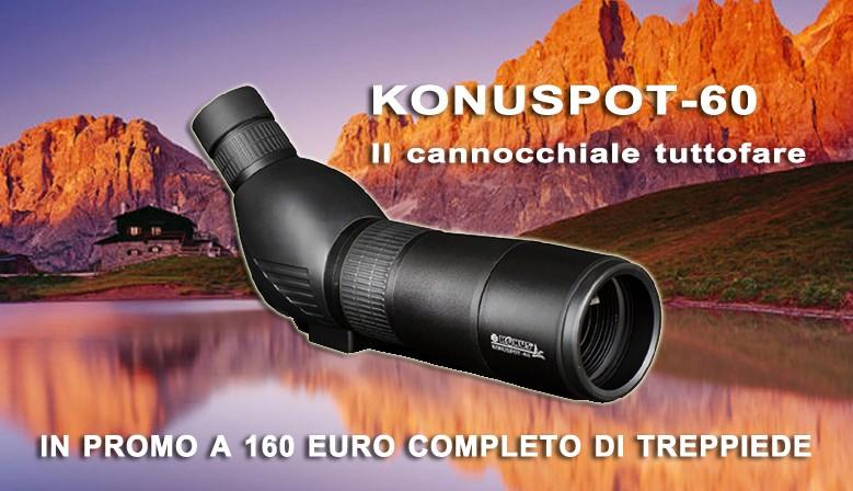 Cannocchiale Konuspot-60 zoom15x-45x
