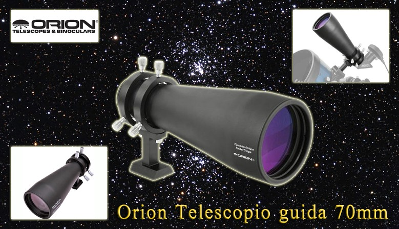 Orion Telescopio guida 70mm