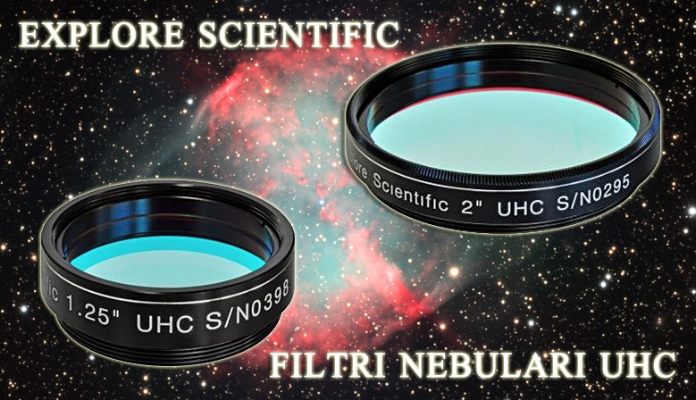 Filtri nebulari UHC Explore Scientific