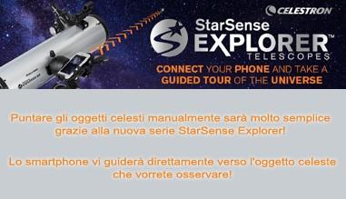 Nuovi telescopi Celestron StarSense Explorer
