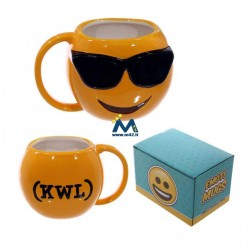 Tazza mug in ceramica Emoticon Occhiali da sole