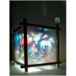 Lanterna magica Giungla
