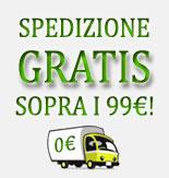 Spedizione Gratis sopra i 99€!