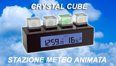 Stazione meteo animata Crystal Cube by TFA Germany