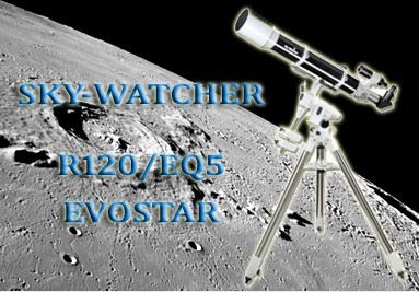 Telescopio Sky-Watcher R120/EQ5 Evostar