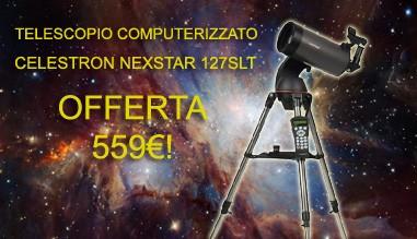 Offerta imperdibile Celestron NexStar 127SLT
