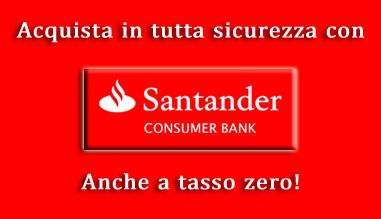 Finanziamenti con Santander Consumer Bank