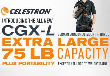 Nuova montatura computerizzata Celestron CGX-L