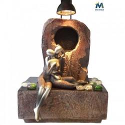 Fontana Feng Shui Innamorati Bacio - Articolo da esposizione