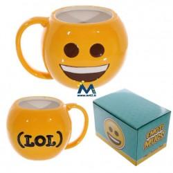 Tazza mug in ceramica Emoticon Sorriso - LOL