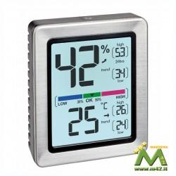Termoigrometro digitale Min-Max sempre visibili