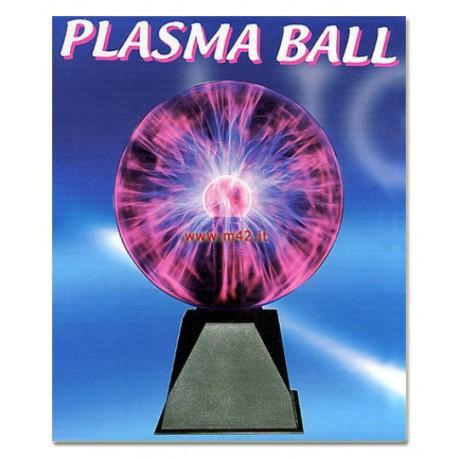 Sfera al plasma grande