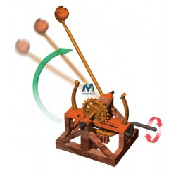 Le macchine di Leonardo: Catapulta