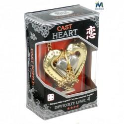 Cast Puzzle Heart