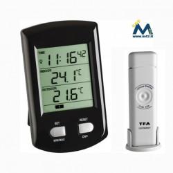 Termometro senza fili Ratio con sensore esterno