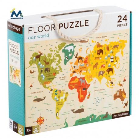 Puzzle da pavimento: Mondo