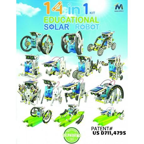 Robot solare 14 in 1