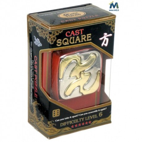 Cast Puzzle Square