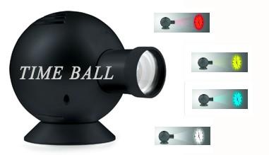Time Ball: orologio a proiezione